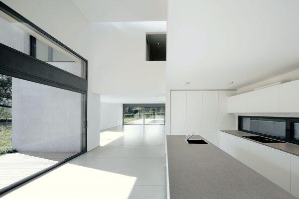 Dekton Ariane flooring Strato countertop