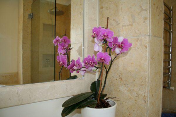 Limestone Bathroom mirror