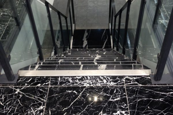 Nero Marquina Staircase