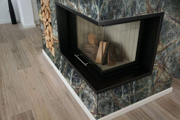 Rainforest Green Fireplace 300dpi