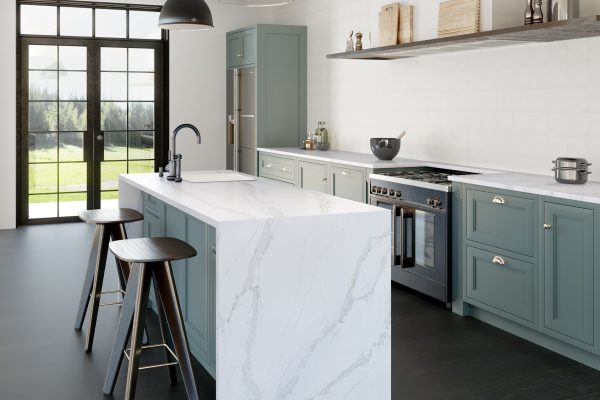 Silestone Eternal Calacatta Gold Kitchen