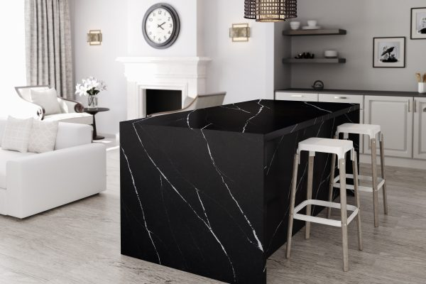 Silestone Kitchen Eternal Marquina 1