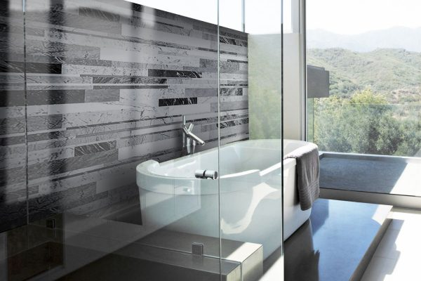 Stonethica carrara mix Bath wall