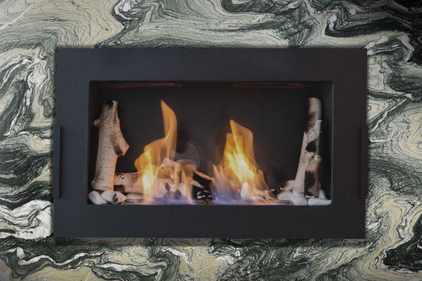 Verde Luana Fireplace